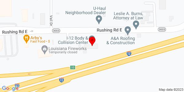 Google Map of +8272+Rushing+Road+Denham+Springs+LA+70726