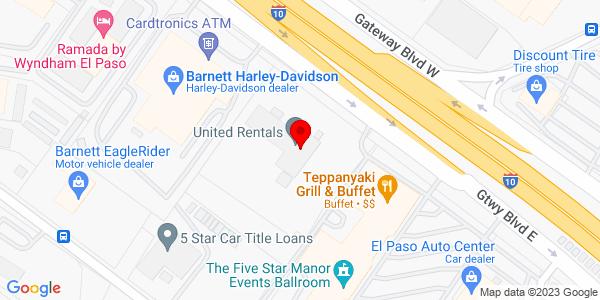 Google Map of +8280+Gateway+East+El+Paso+TX+79907