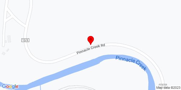 Google Map of +83+Pinnacle+Creek+Road+Pineville+WV+24874