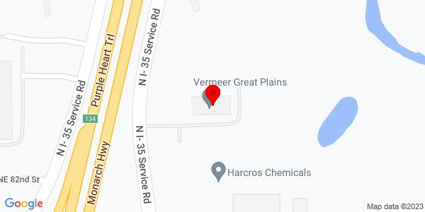 Google Map of +8300+N.+I-35+Service+Road++Oklahoma+City+OK+73131+