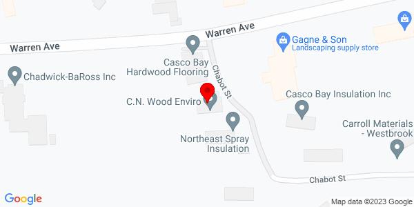 Google Map of +84B+Warren+Avenue+Westbrook+ME+04092