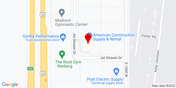 Google Map of +868+Jet+Stream+Drive+Rexburg+ID+83440