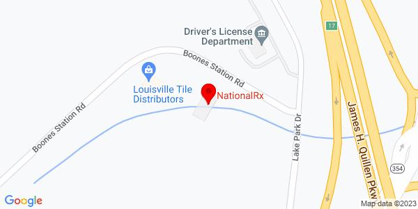 Google Map of +880+Boone+Station+Road+Johnson+City+TN+37615