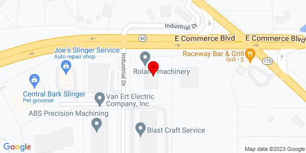 Google Map of +881+East+Commerce+Blvd+Slinger+WI+53086