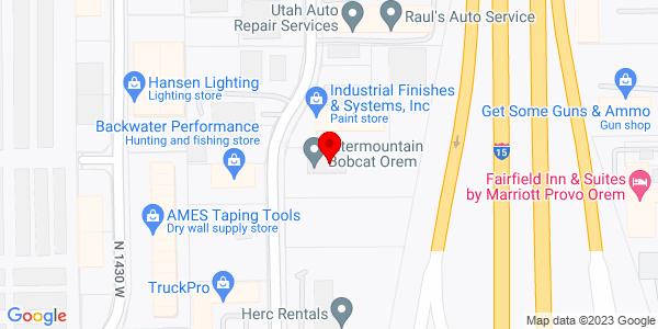 Google Map of +890+N+Industrial+Park+Drive+Orem+UT+84057