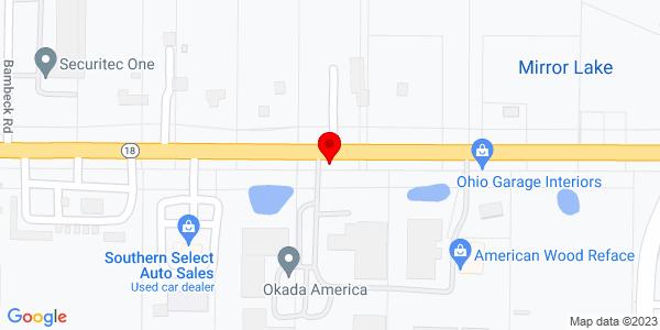 Google Map of +904+Medina+Road+Medina+OH+44256
