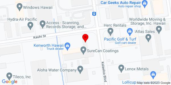 Google Map of +91-210+Kalaeloa+Blvd+Kapolei+HI+96707