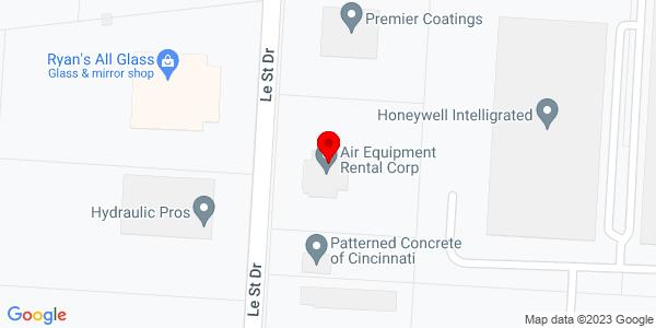 Google Map of +9400+Le+Saint+Drive+Fairfield+OH+45014