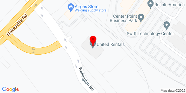 Google Map of +9415+Wellington+Road+Manassas+++VA+20109