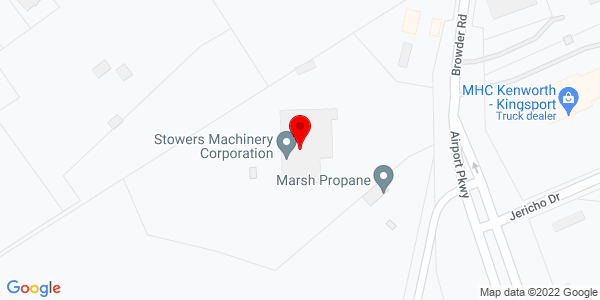 Google Map of +9960+Airport+Parkway+Blountville+TN+37617