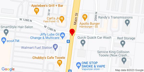 Google Map of +Box+95+1275+North+Main+Tooele+UT+84074
