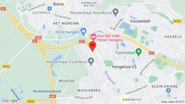 Autogroep+Twente+Hengelo op Google Maps