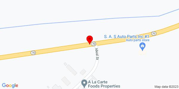 Google Map of +Hwy+70%40+44+Convent+LA+70723