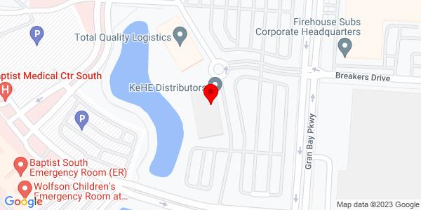 Google Map of +Lakeside+II%2C+12740+Gran+Bay+Parkway+Jacksonville+FL+32258