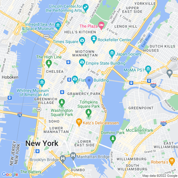 The New York Science Fiction Film Festival Map