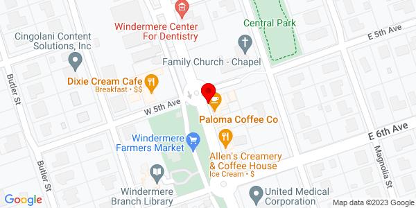 Google Map of +P.O.+Box+1649++Windermere+FL+34786