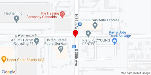 Google Map of +PO+Box+19010+Phoenix+AZ+85005