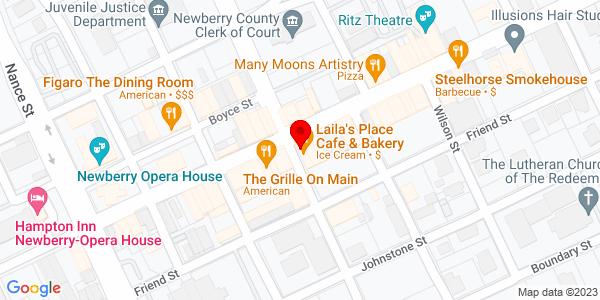 Google Map of +PO+Box+877+Newberry+SC+29108