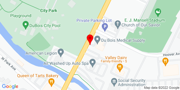 Google Map of +Route+219+North++DuBois+PA+15801