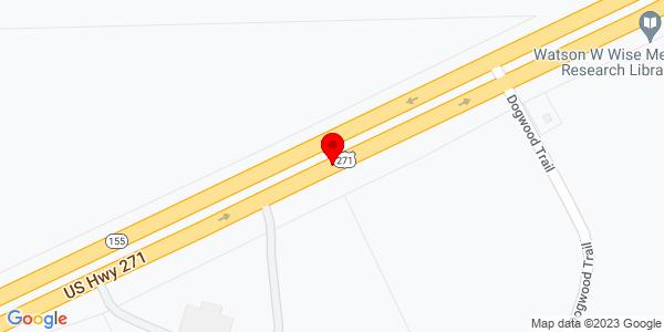 Google Map of +US+Hwy+271+Tyler+TX+75708