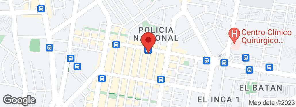 Río Coca E8-73 y París , Quito, Pichincha