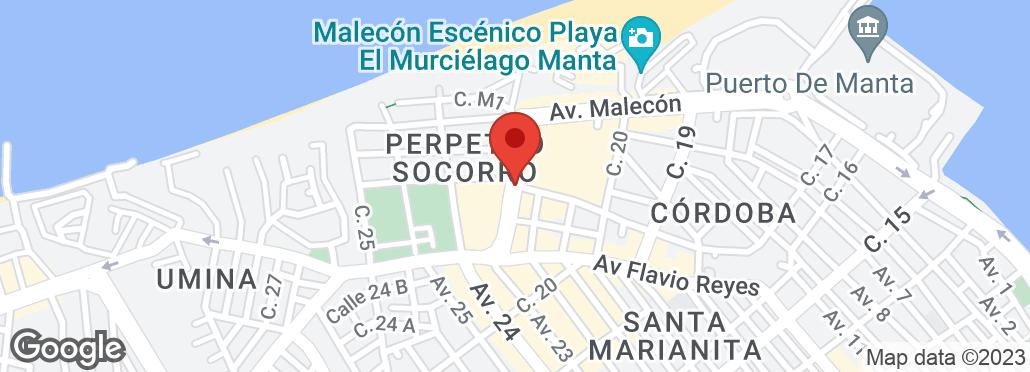 Avenida Circunvalación y Calle 23 , Manta, Manabí