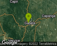 Gabela - Area map