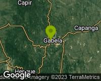 Gabela - Mapa da área