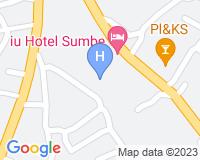 IU Hotel Sumbe - Mapa da área