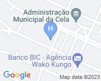 Hotel Ritz Waku-Kungo - Mapa da área