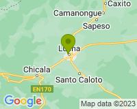 Moxico - Area map