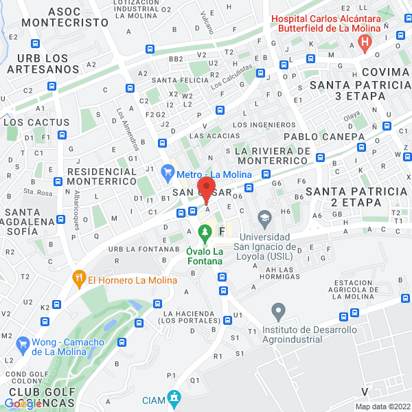 Av. Javier Prado Este 5950, Cruce con Av. La Molina. Lima