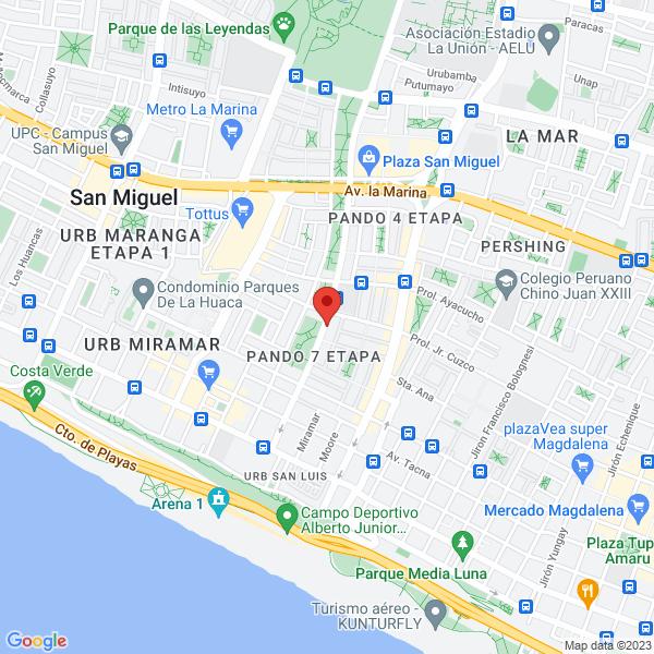 Av. Jose de la Riva Agüero 276 - San Miguel, Lima, Peru