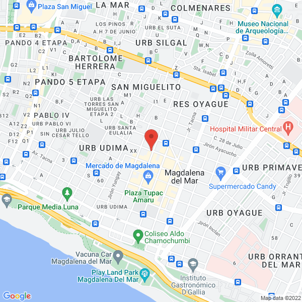 Jirón Cuzco 707, tercer piso. Magdalena del Mar, Lima