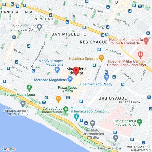 Jirón Leoncio Prado 888, 4to piso. Magdalena del Mar, Lima.