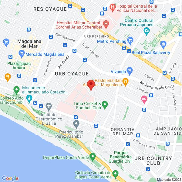 Calle César Vallejo 136,  Urb. Jacarandá, Magdalena,  Lima, Perú