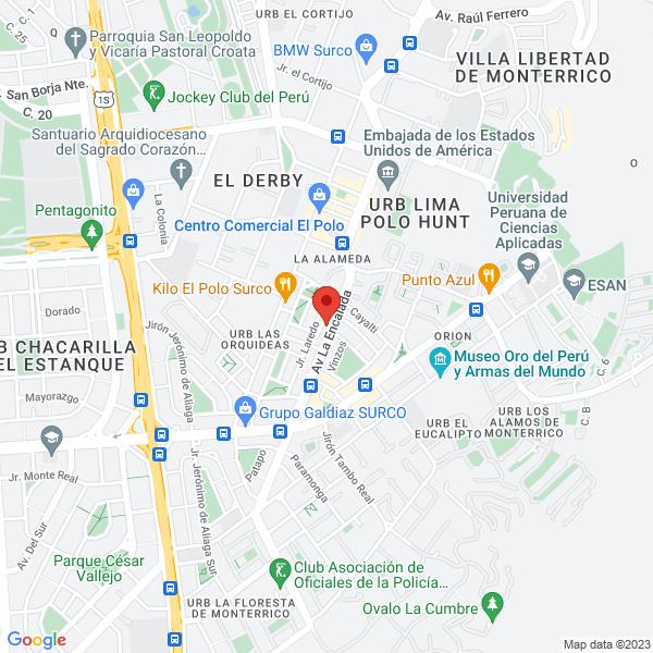 Av. Encalada 995, Santiago de Surco