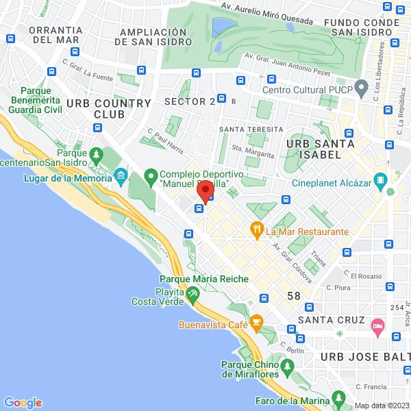 Av. Hipólito Unanue 225, int 303. Miraflores, Lima.