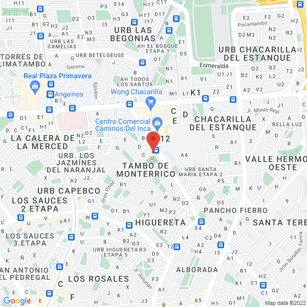 Brea y Pariñas 102 - piso 202. Chacarilla - Santiago De Surco, Lima.