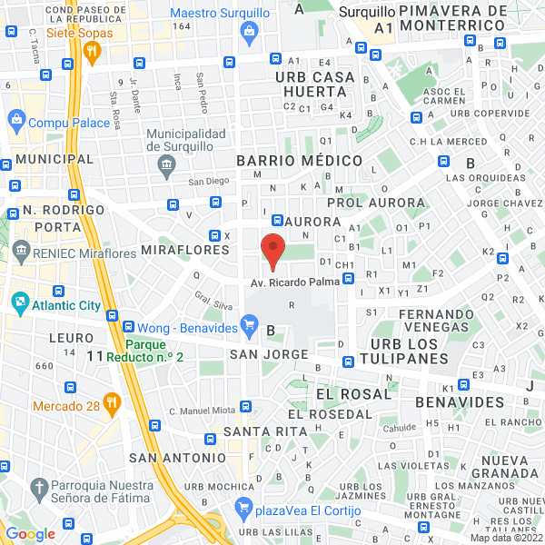 Av. Ricardo Palma 1331. Miraflores, Lima.