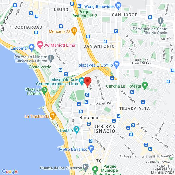 Buenaventura Aguirre 104. Barranco, Lima.