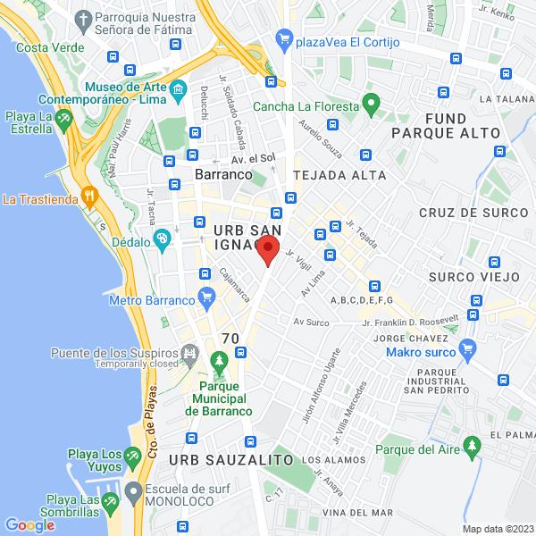 Av. Bolognesi 711. Barranco, Lima