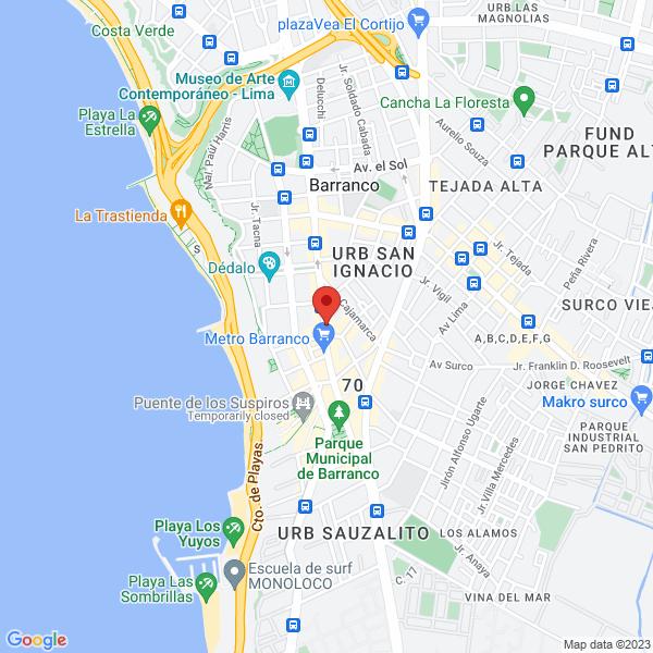 Av. Grau #610 2do piso of. 203. Barranco, Lima