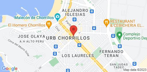 Directions to Restaurante Vegetariano Vida y Salud Chorrillos