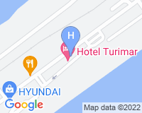 Hotel Turimar - Area map