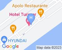 Hotel Turimar - Mapa da área