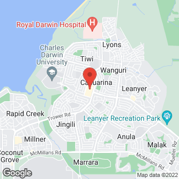 Map of Foot Locker Casuarina at Shop GD101A Casuarina Square 247 Trower Rd, Casuarina, NSW 0810
