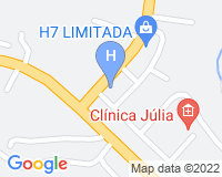 Doce Hotel - Area map