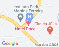 Doce Hotel - Mapa da área