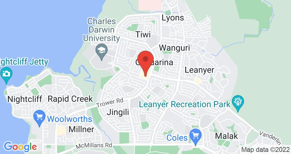 Google Map of UniLodge Darwin